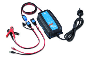Victron acculader Blue Power IP65 12V 10A Blue-Power-IP65-Charger-12V-10A-+-DC-connector