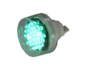 HT30L1  Lamp voor clinometer in de Pet, Groen HT30L1